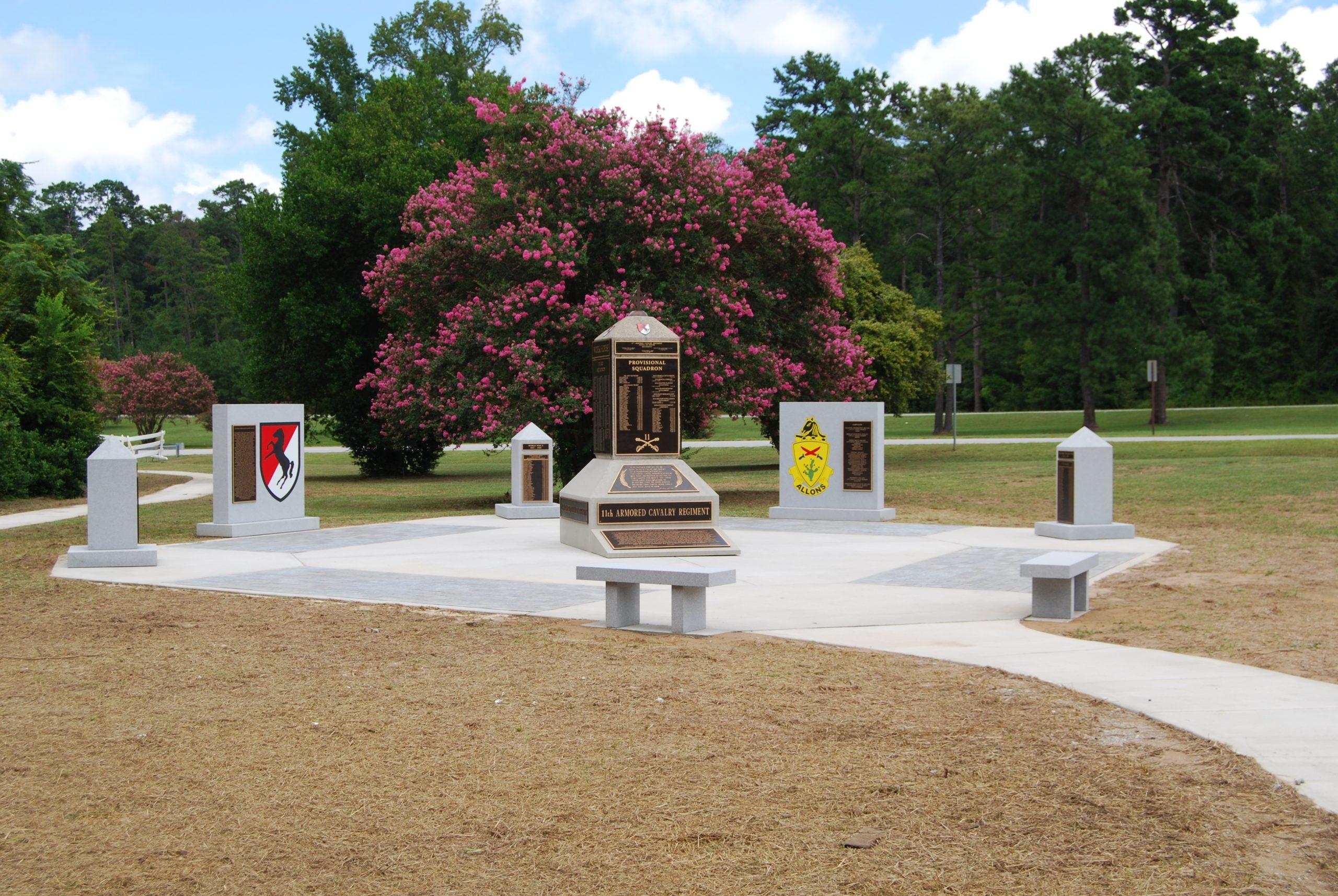 Blackhorse Memorial at Fort Benning